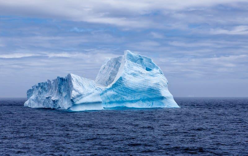 Sphynx d'iceberg dans Antarctica-2 image libre de droits