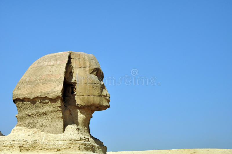 Sphynx egiziano fotografie stock libere da diritti