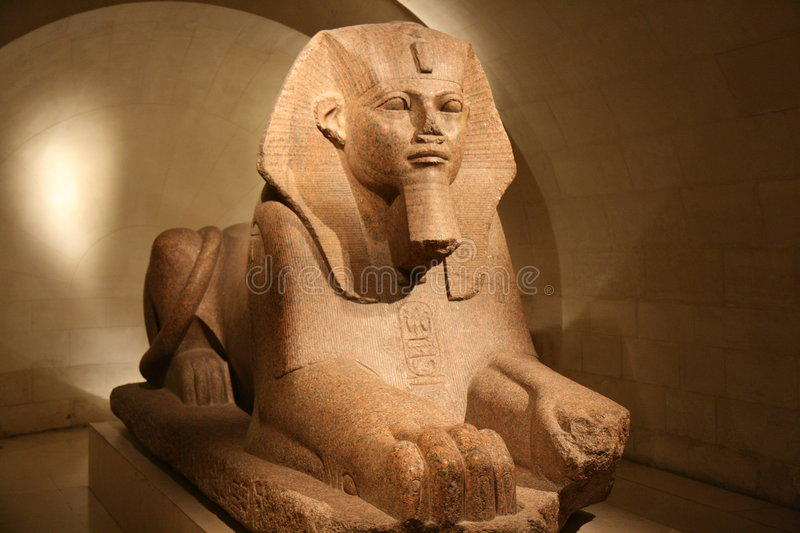 Download Sphynx at the Louvre stock photo. Image of ancient, sphynx - 2040504