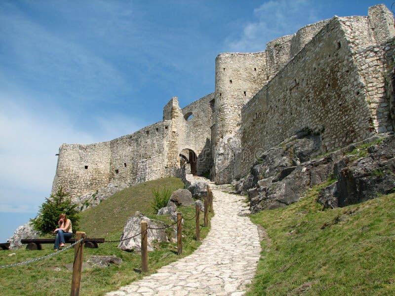 Spiš castle royalty free stock photos