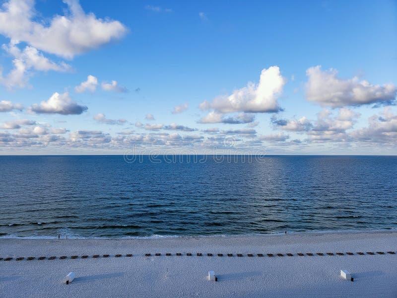 Spiagge dell'Alabama fotografia stock libera da diritti