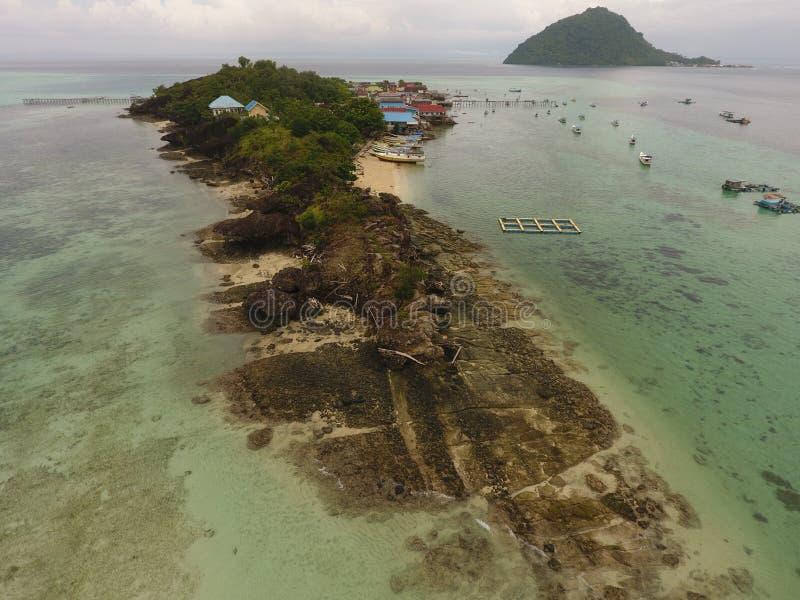 spiagge ed isola immagini stock