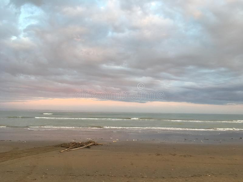 Spiagge italiane immagini stock