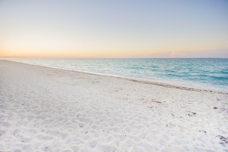 Spiagge spiaggia dei Caraibi, Varadero, Cuba fotografie stock