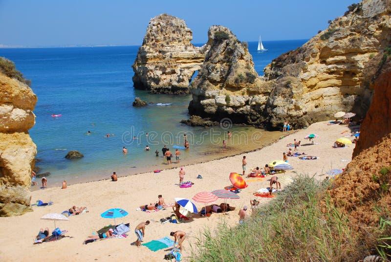 Spiaggia 10 del Portogallo immagini stock libere da diritti