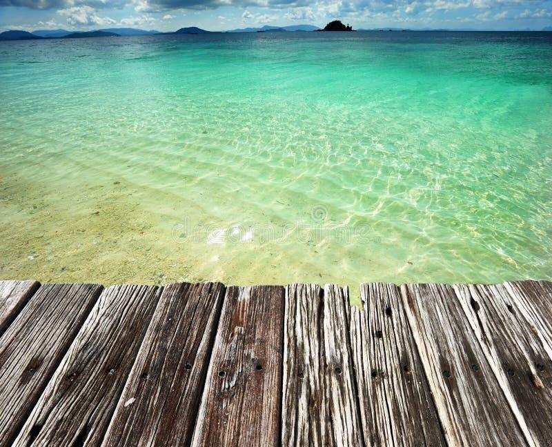 Download Spiaggia immagine stock. Immagine di scenico, mare, orizzonte - 55351827