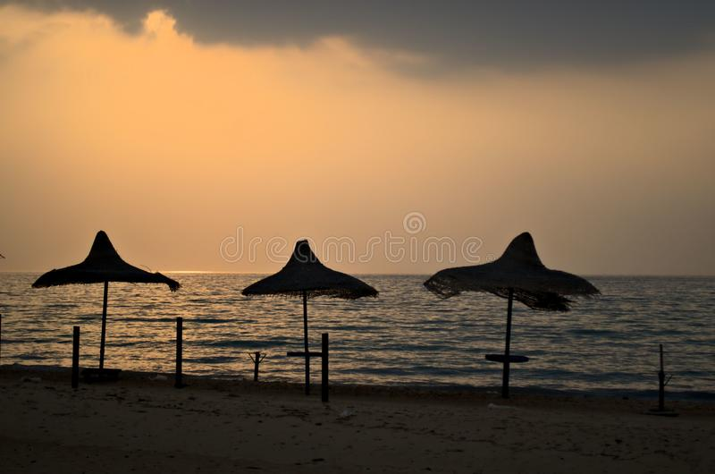 Spiaggia adorabile immagine stock libera da diritti