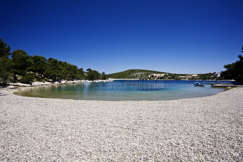 Spiaggia adriatica immagini stock libere da diritti