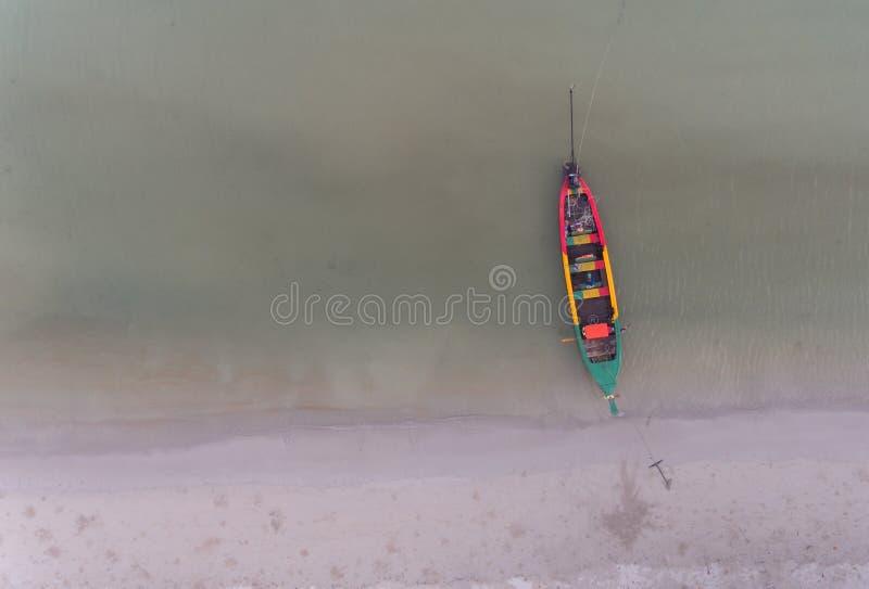 Spiaggia aerea di Patong fotografia stock libera da diritti