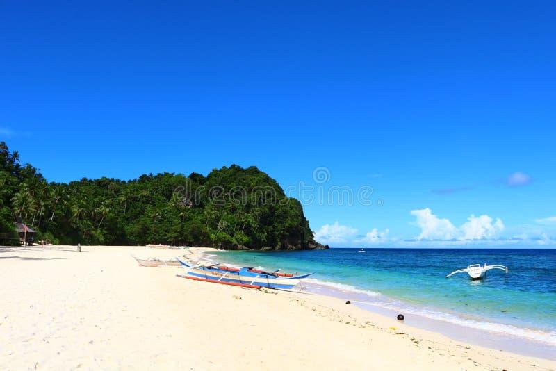 Spiaggia in Aklan fotografie stock