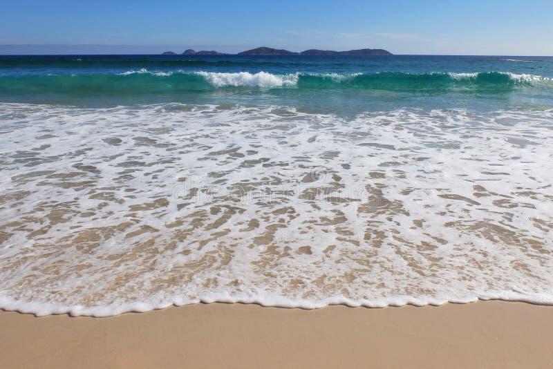 Spiaggia in Australia immagine stock libera da diritti