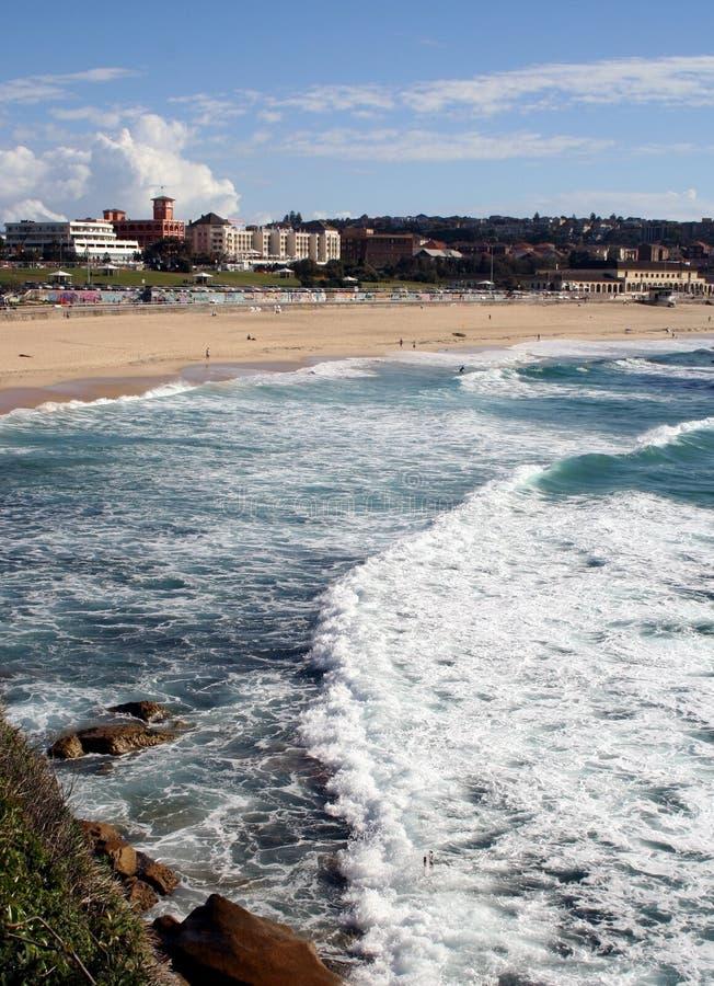 Spiaggia Australia di Bondi immagine stock