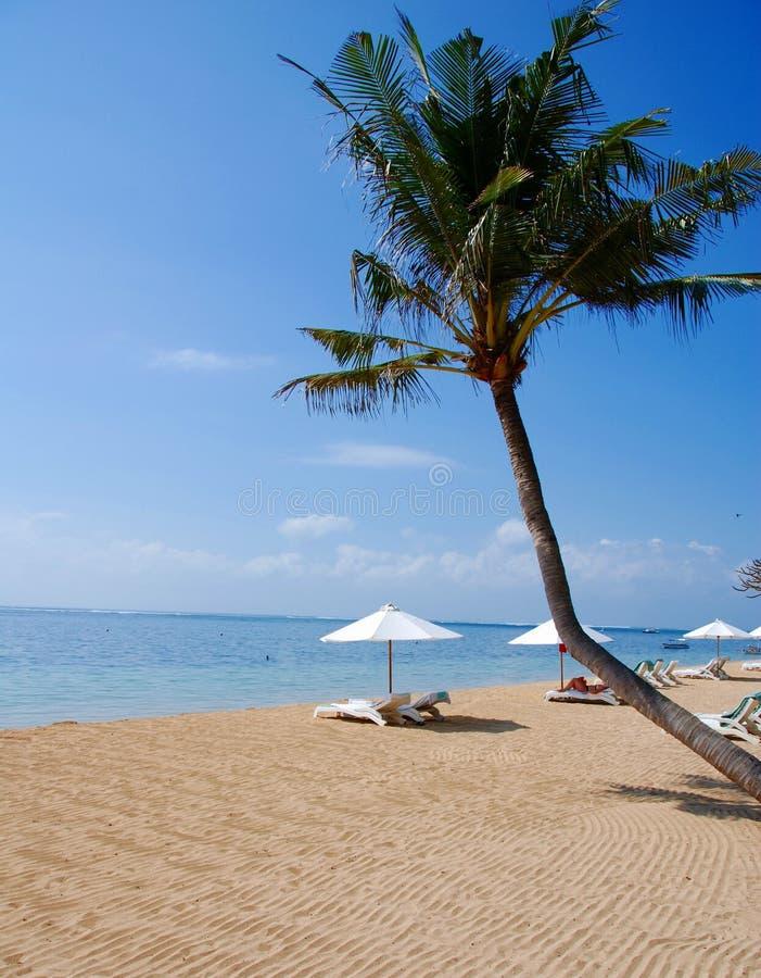 Spiaggia in Bali fotografie stock