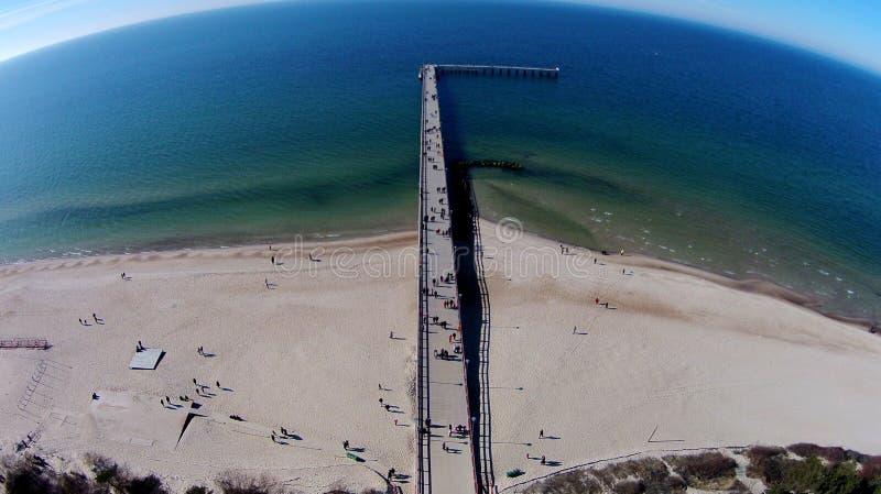 Spiaggia baltica fotografia stock