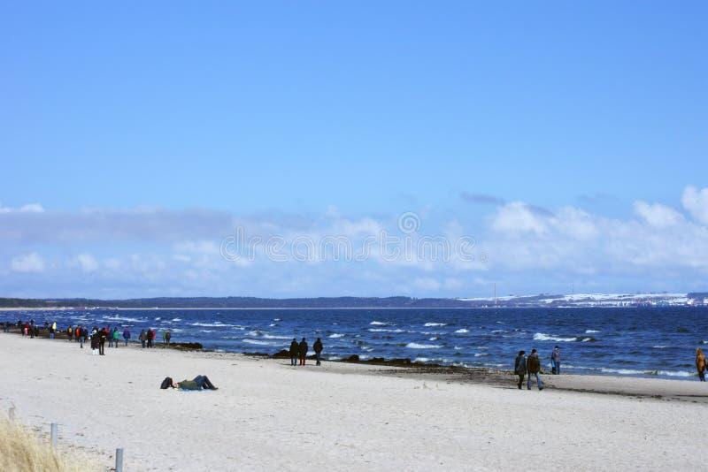 Download Spiaggia baltica Binz fotografia editoriale. Immagine di tempo - 30827212