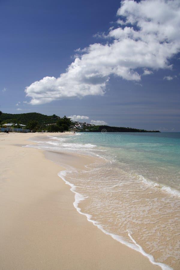 Spiaggia bianca fotografie stock