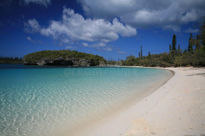 Spiaggia bianca della sabbia fotografia stock libera da diritti