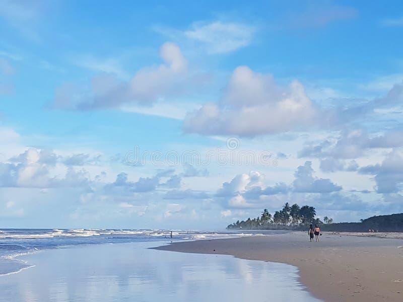 Spiaggia brasiliana fotografering för bildbyråer