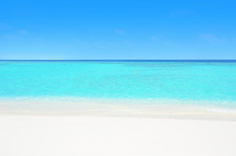 Download Spiaggia celestiale fotografia stock. Immagine di bello - 56883434