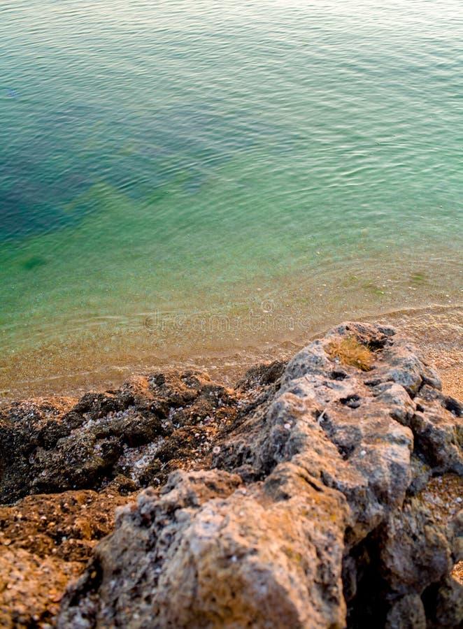 Spiaggia da sopra Estate di Paradise Spiaggia nel Portogallo immagine stock