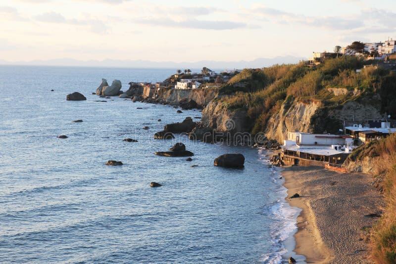 Spiaggia degli ischi immagini stock libere da diritti