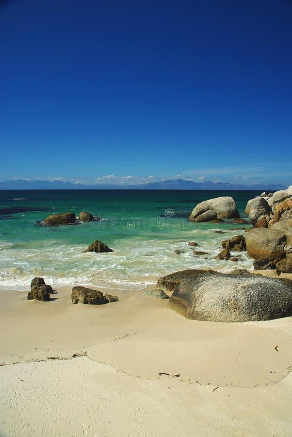 Spiaggia dei massi immagini stock libere da diritti