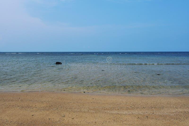 spiaggia del anyer fotografie stock