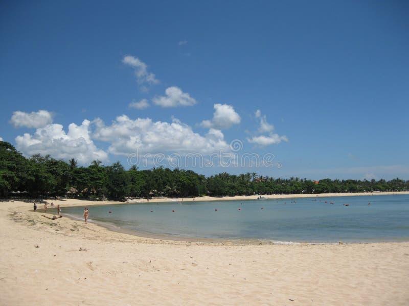 Spiaggia del Bali fotografia stock