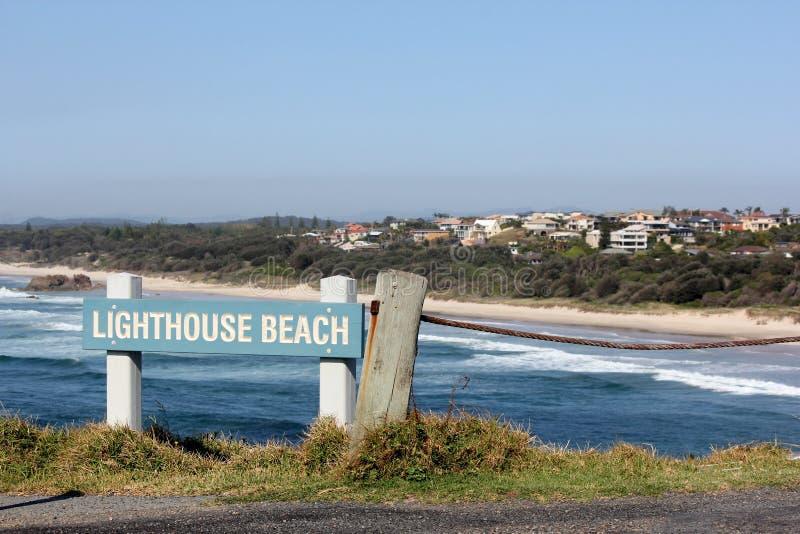 Spiaggia del faro, porto Macquarie 2 fotografie stock