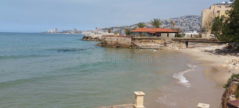 Spiaggia del Libano immagine stock