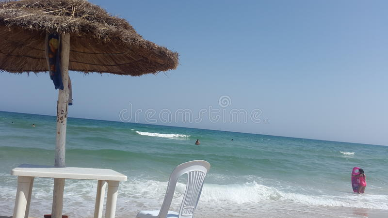 Spiaggia del mare fotografie stock