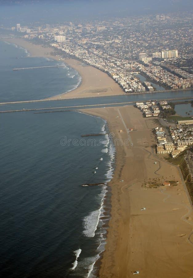 Spiaggia del Marina del Rey fotografia stock libera da diritti