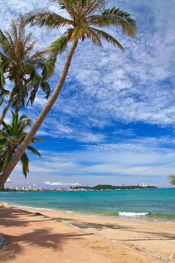 Spiaggia del nord di Pattaya immagine stock libera da diritti