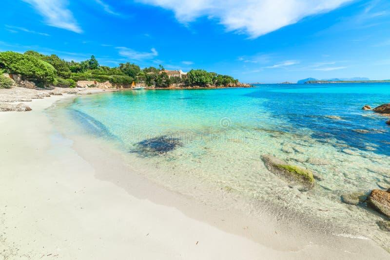 Spiaggia del Principe royaltyfri fotografi