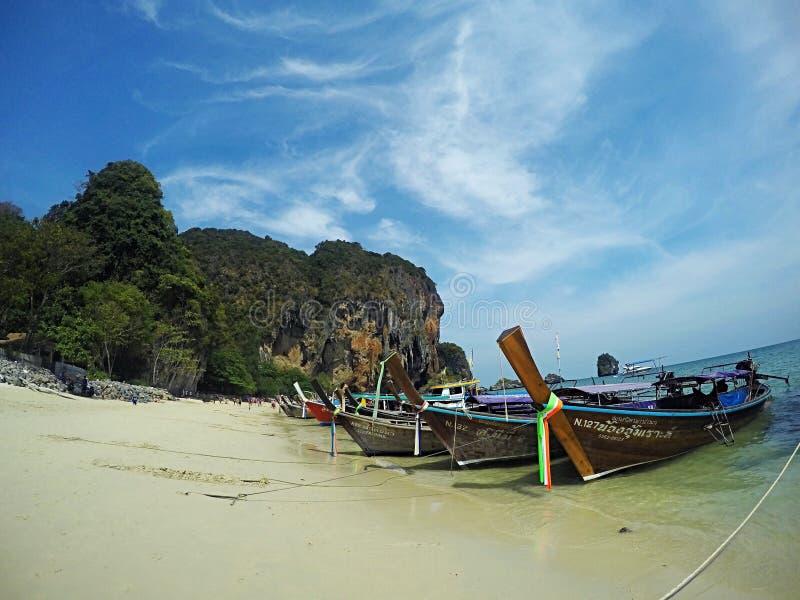 Spiaggia del raggio di rai fotografia stock