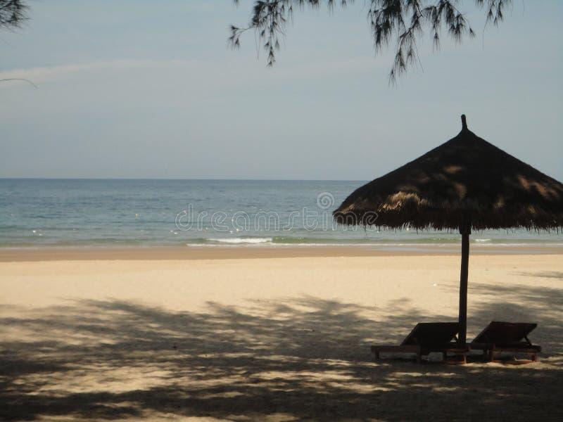 Spiaggia del ` s del Vietnam immagini stock libere da diritti