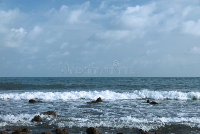 Spiaggia del SOR di BangKao Laem fotografie stock libere da diritti