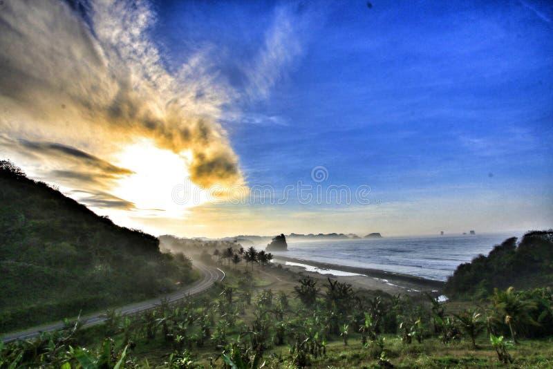 Spiaggia del sud fotografia stock