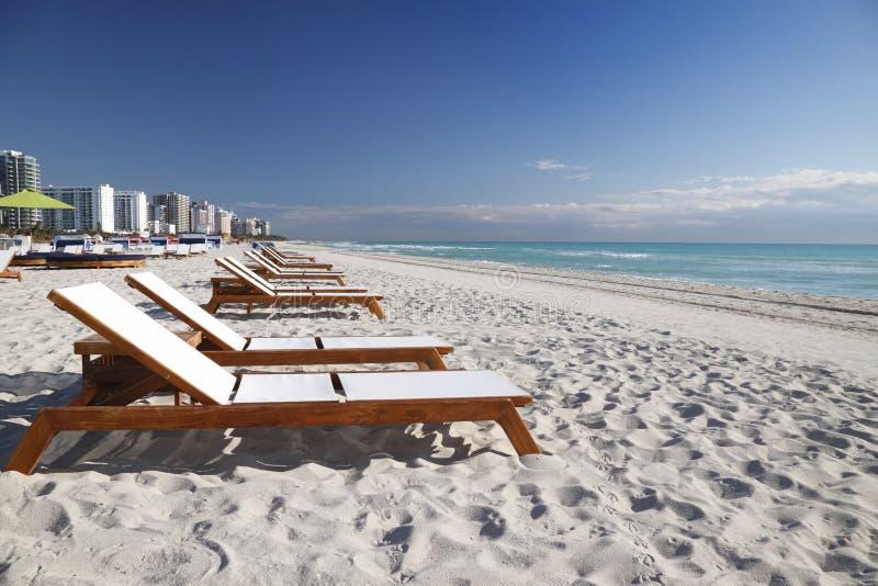 Spiaggia del sud Miami immagine stock