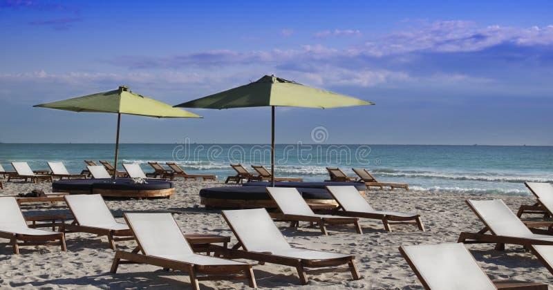 Spiaggia del sud, Miami immagini stock libere da diritti