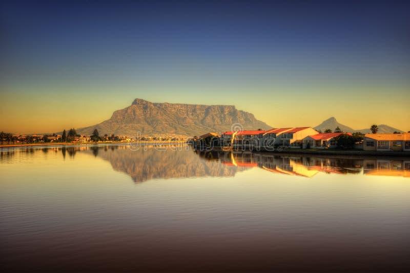 Spiaggia del Sudafrica Città del Capo immagini stock libere da diritti