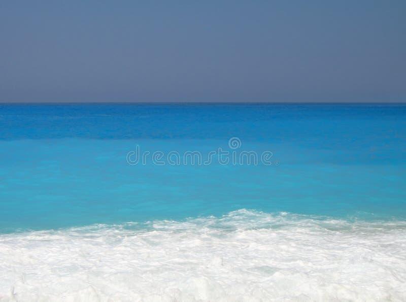 Spiaggia del turchese immagine stock libera da diritti