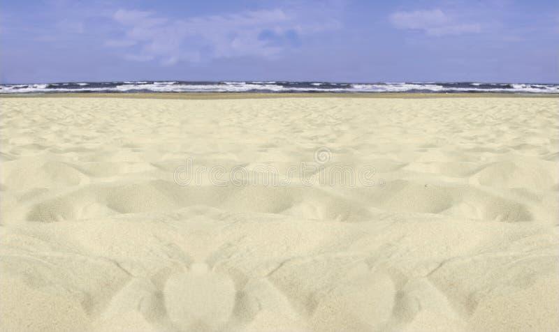 Spiaggia del Usedom immagini stock