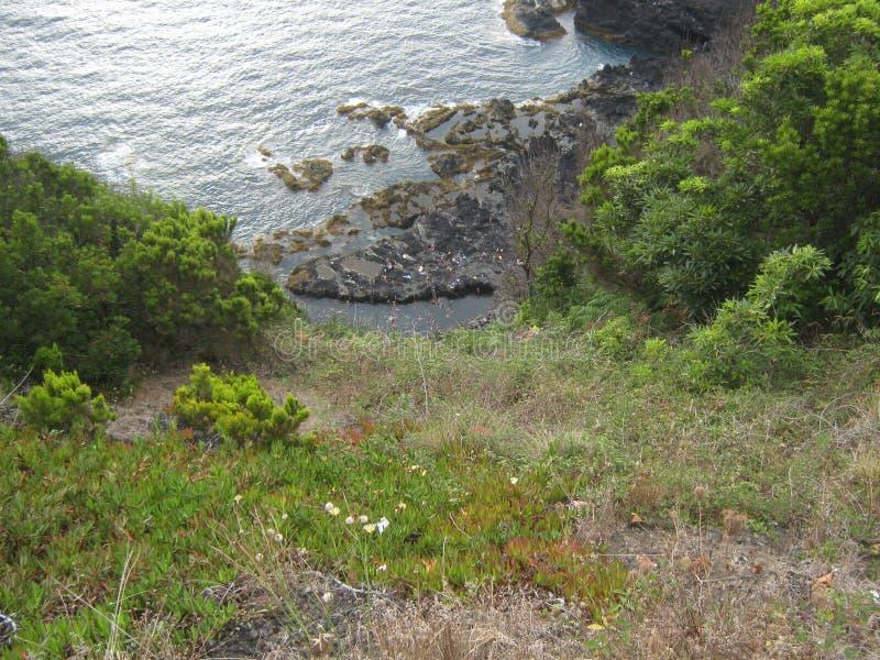 Spiaggia dell'acqua calda fotografie stock