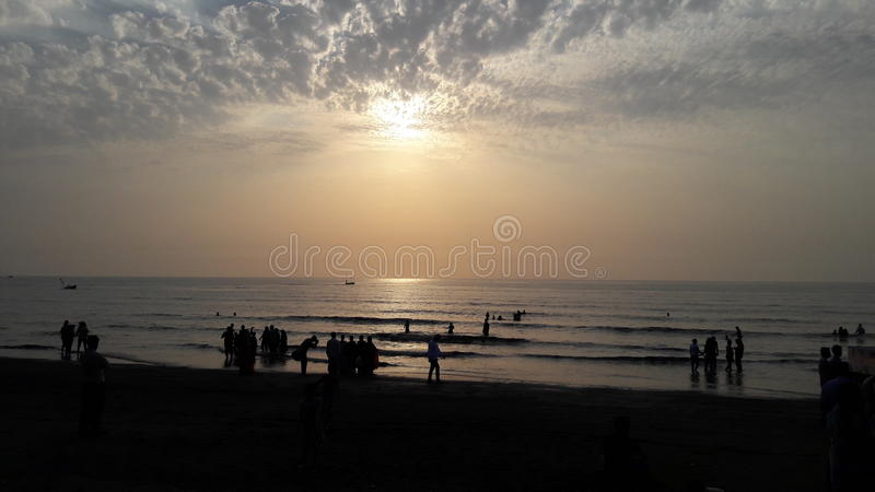 Spiaggia dell'acqua della natura immagini stock libere da diritti