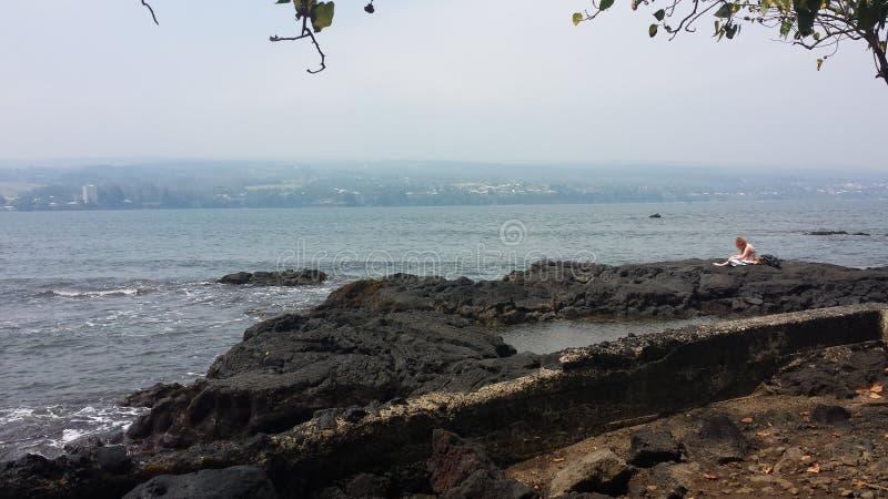 Spiaggia dell'Hawai immagine stock libera da diritti