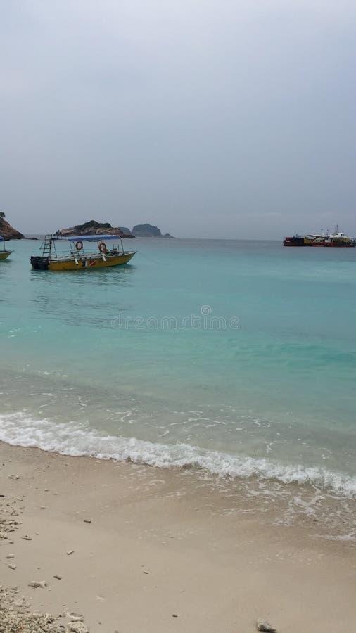 Spiaggia dell'isola di Redang fotografia stock
