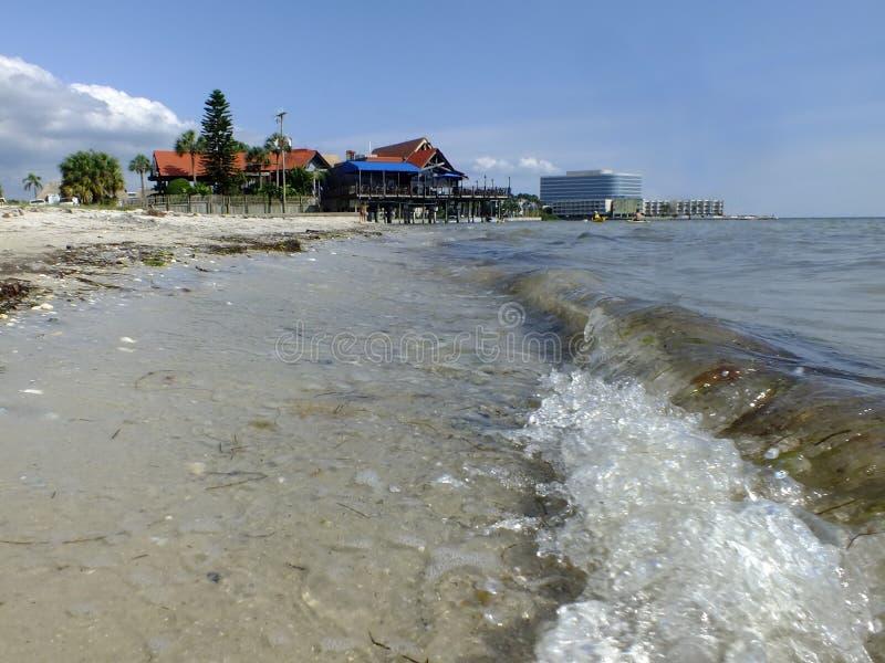 Spiaggia dell'oceano immagine stock libera da diritti