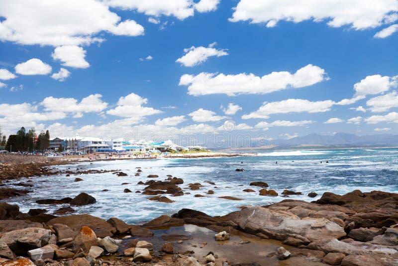 Spiaggia della baia di Mossel fotografia stock libera da diritti