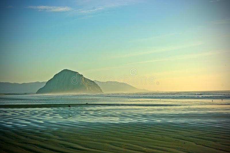 Spiaggia della California immagini stock